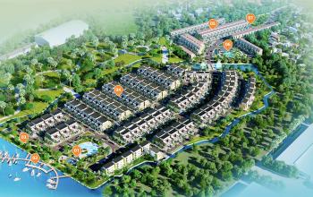 Tổng thể dự án Trần Anh Riverside
