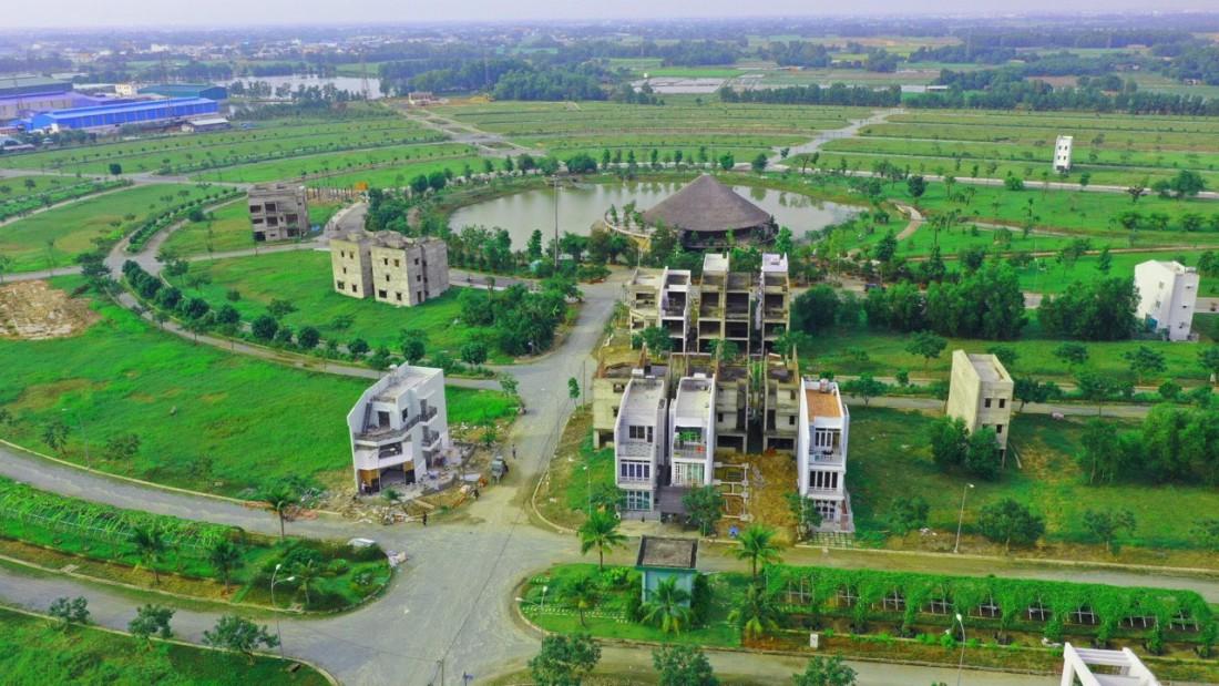 Hình thực tế dự án làng sen việt nam