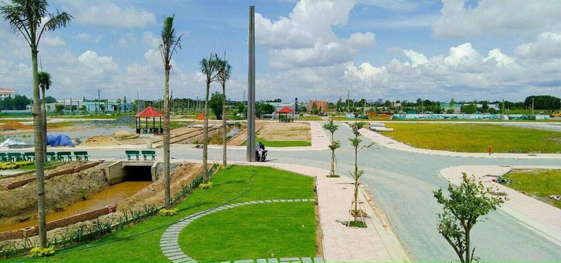 Hình ảnh thực tế dự án KĐT Tây Nam Center