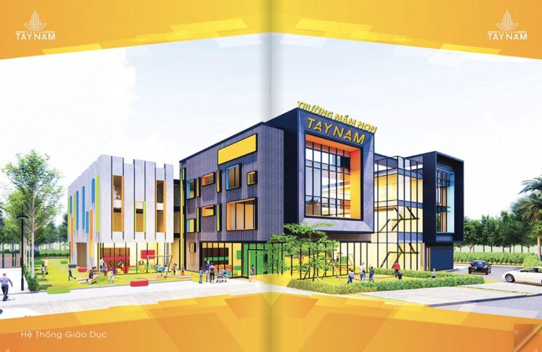 Trường mầm non trong dự án tây nam center