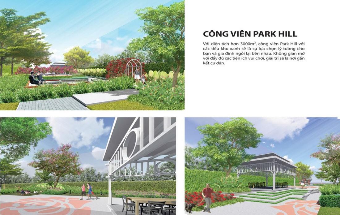 Tiện ích công viên Dự án Tây Nam Center