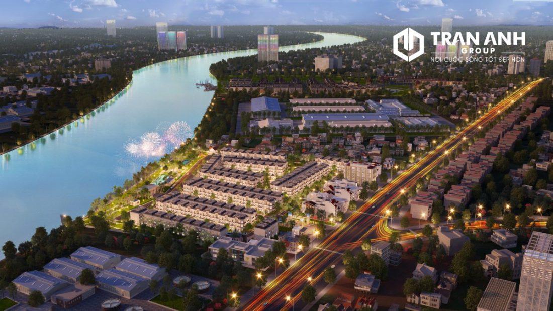 Solar City về đêm