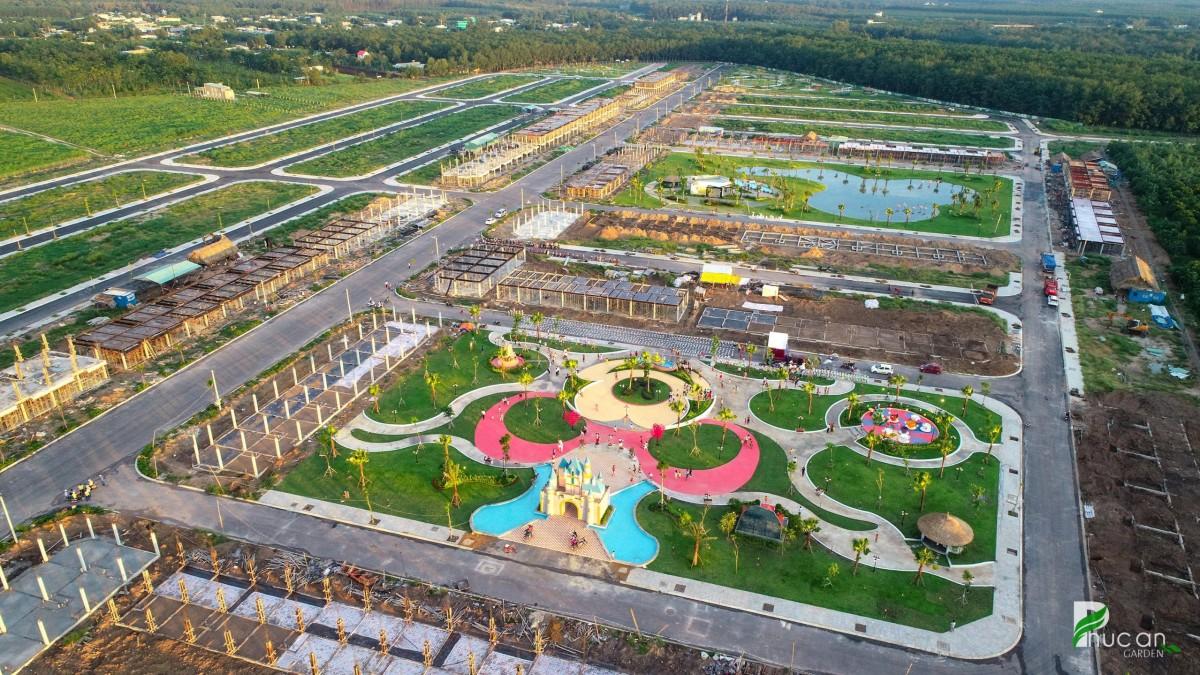 Một Khu đô thị mới tại trung tâm Bàu Bàng đang được Công ty Bất động sản Trần Anh Group giới thiệu ra thị trường