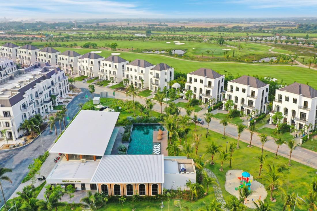 Hình thực tế biệt thự west lakes golf & villas