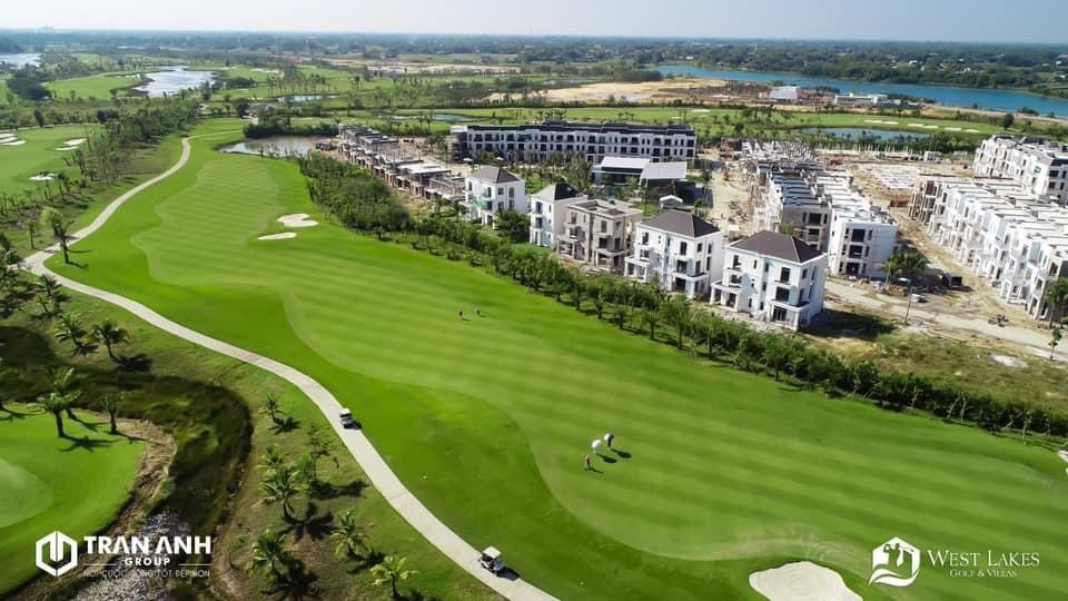 tiến độ west lakes golf & villas