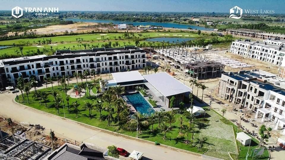 hình thực tế west lakes golf & villas