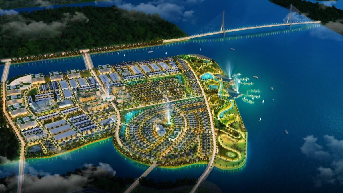 Vị trí độc tôn của dự ánKing Bay