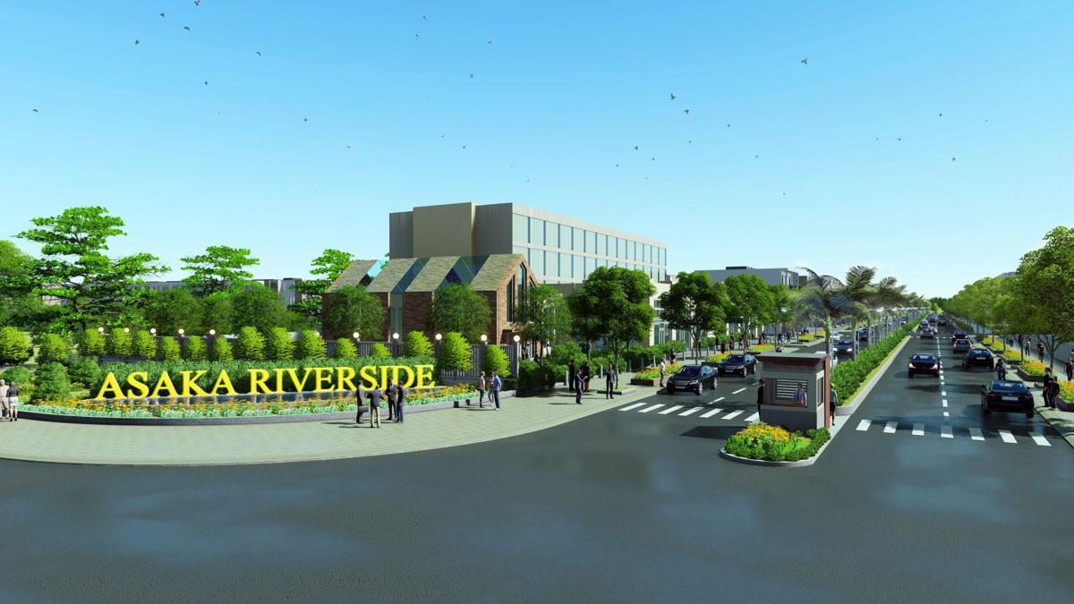 Vị trí địa lý đắc địa của dự án Asaka Riverside