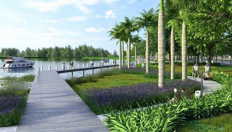 vị trí dự ánAqua City Novaland