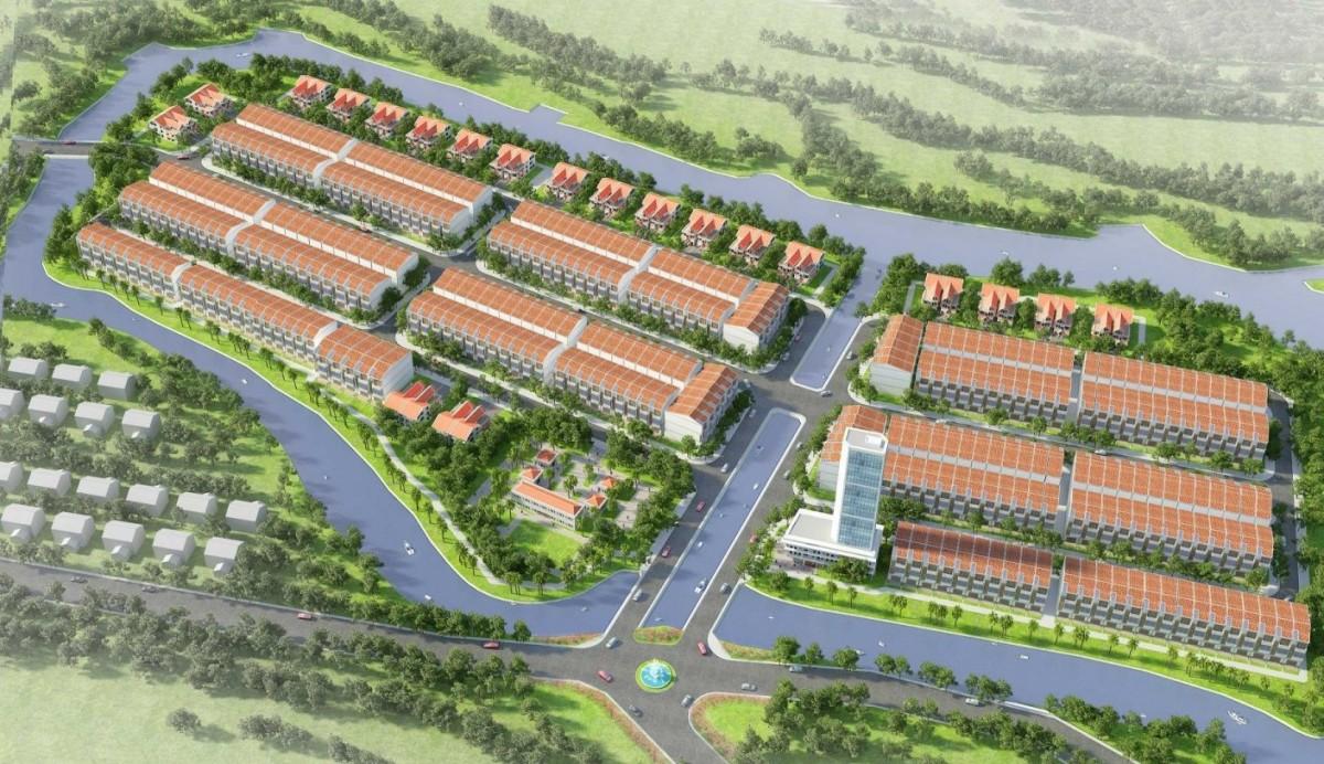 Vị trí địa lý đắc địa của dự ánTân Lân Riverside
