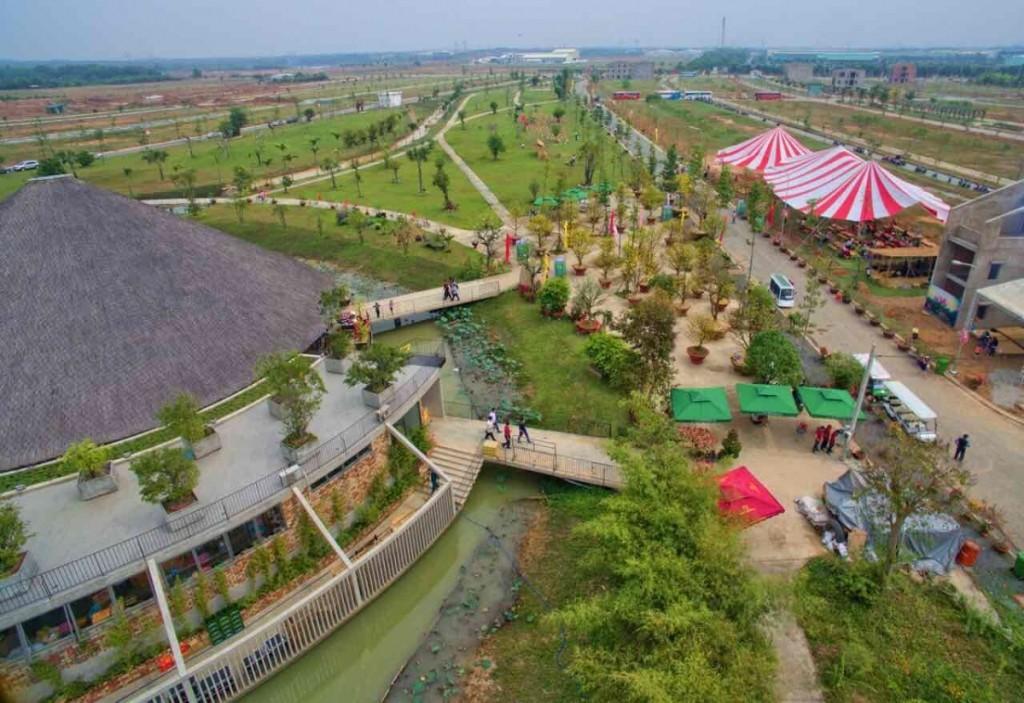 Quy mô dự ánLàng Sen Việt Nam