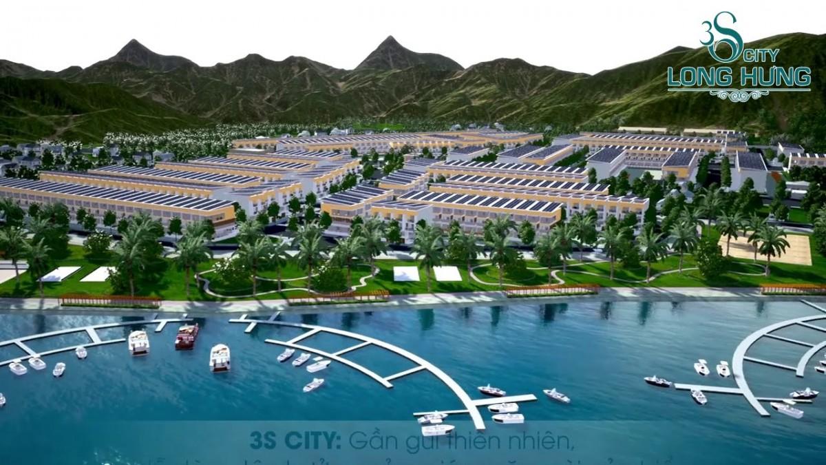 Vị trí dự án 3S City Long Hưng