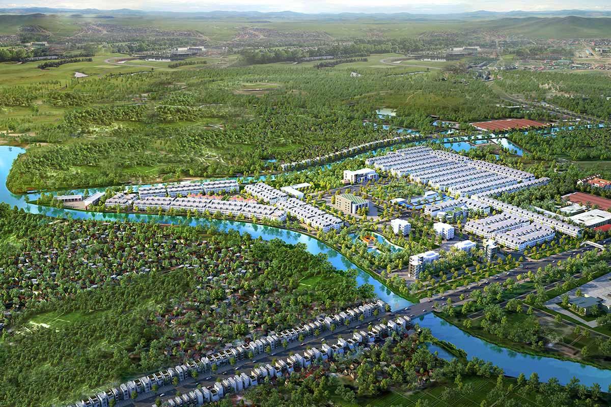 Tiện ích nội khu và ngoại khu hấp dẫn của dự ánAsaka Riverside