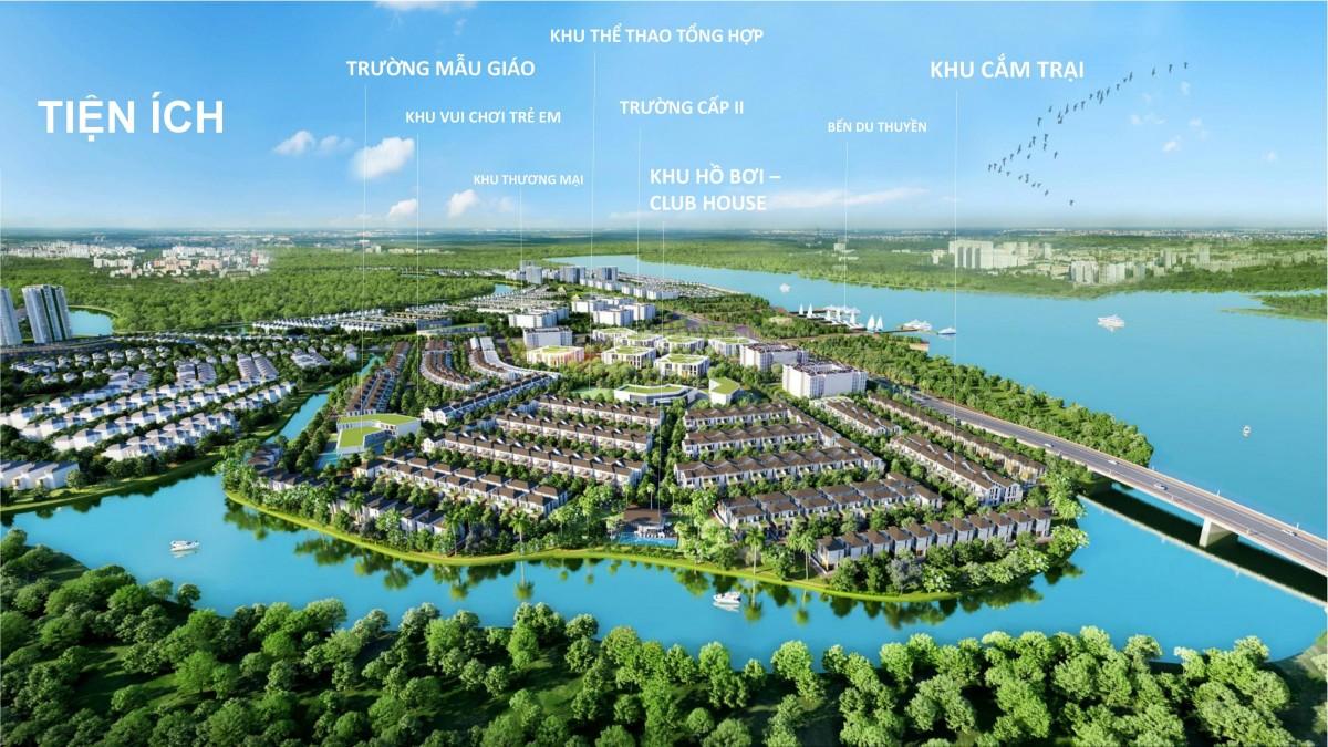Tiện ích dự ánAqua City Novaland