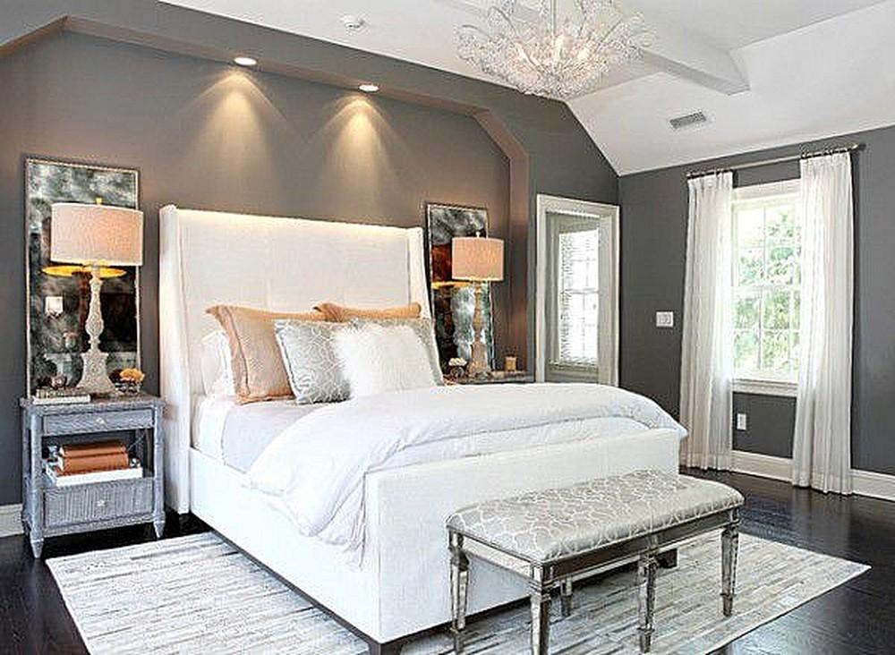 Tối kỵ đặt giường ngủ nằm đối diện với cửa phòng
