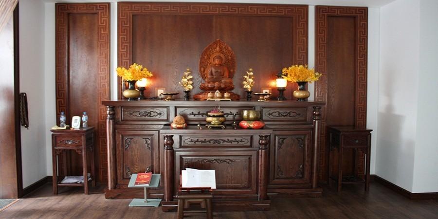 Giá trị tâm linh đặc biệt trong cách thờ cúng trong nhà