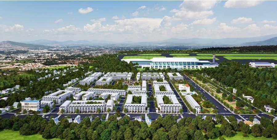 Vị trí dự ánLong Thành Airport Village