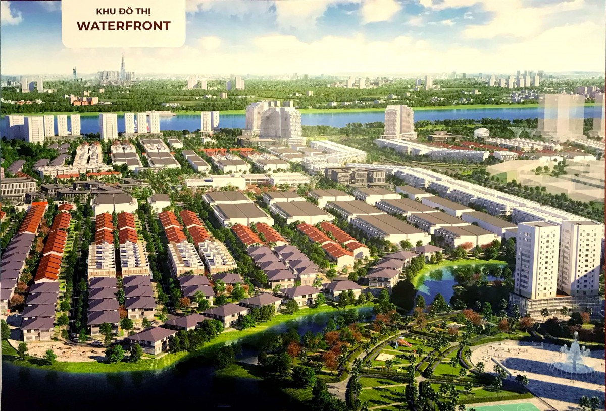 Dự ánWaterfront City