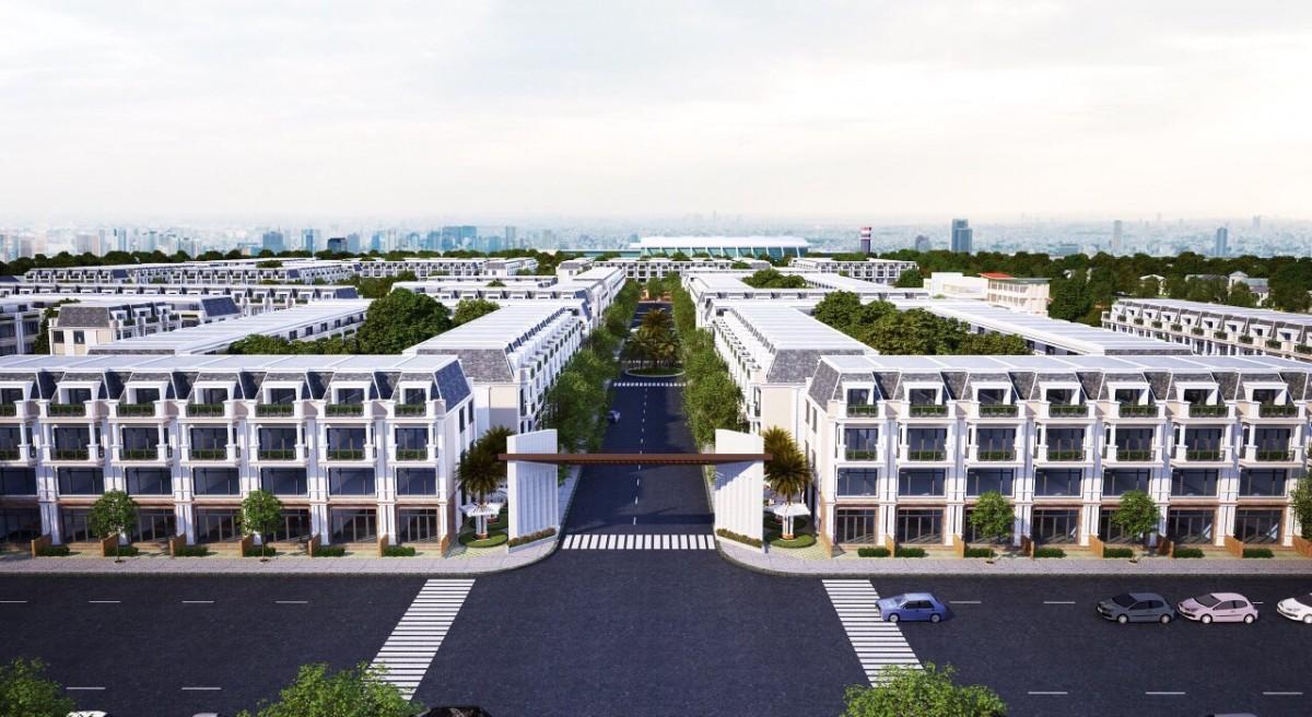Mặt bằng dự ánLong Thành Airport Village