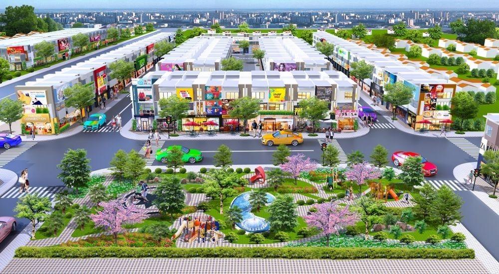 Không gian sống tuyệt vời của cư dân ở Golden Future City Bàu Bàng