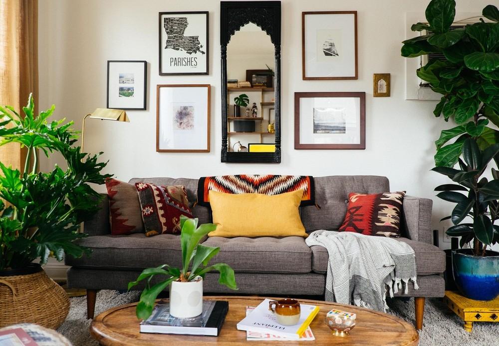 Cách bố trí cây cảnh sao cho hợp lý nhất trong phòng khách