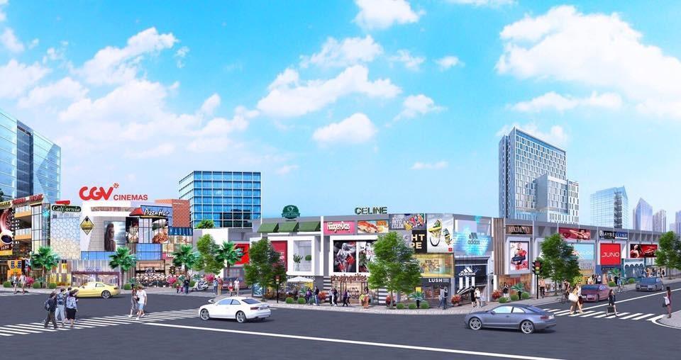 Không gian sống tốt đẹp, khả năng kinh doanh thuận lợi của Golden Future City