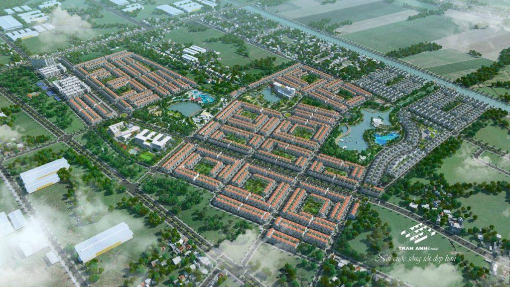 """Đánh giá vị trí """"kim cương"""" của dự án Phúc An City Trần Anh"""