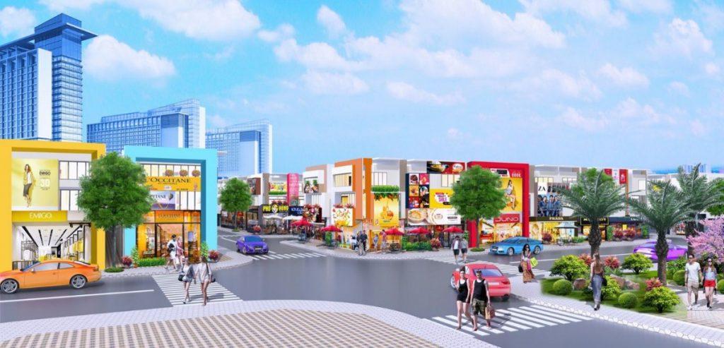 Tổng quan của toàn bộ dự án Golden Future City