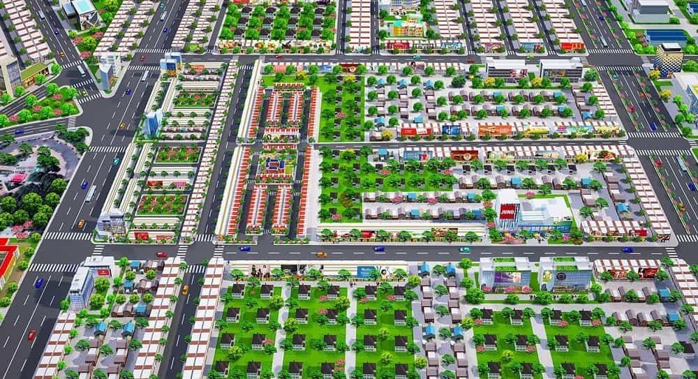 Vị trí dự án Golden Future City