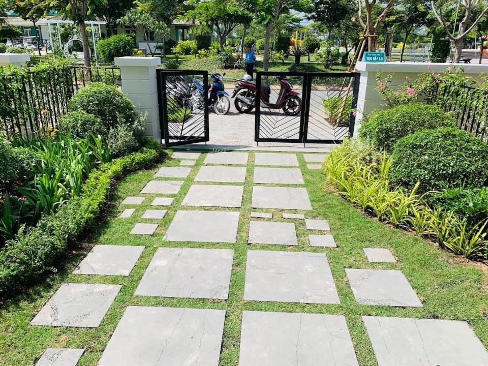 Ưu ái kết hợp không gian xanh mang lại sự trong lành cho căn nhà