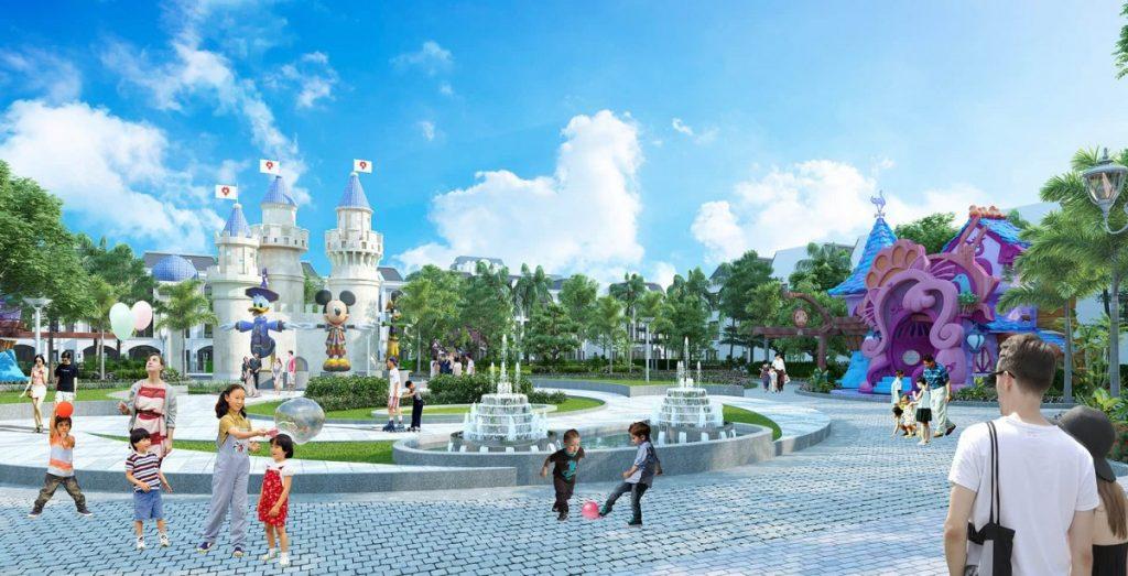 Quy mô lớn của dự án Phúc An Garden Trần Anh