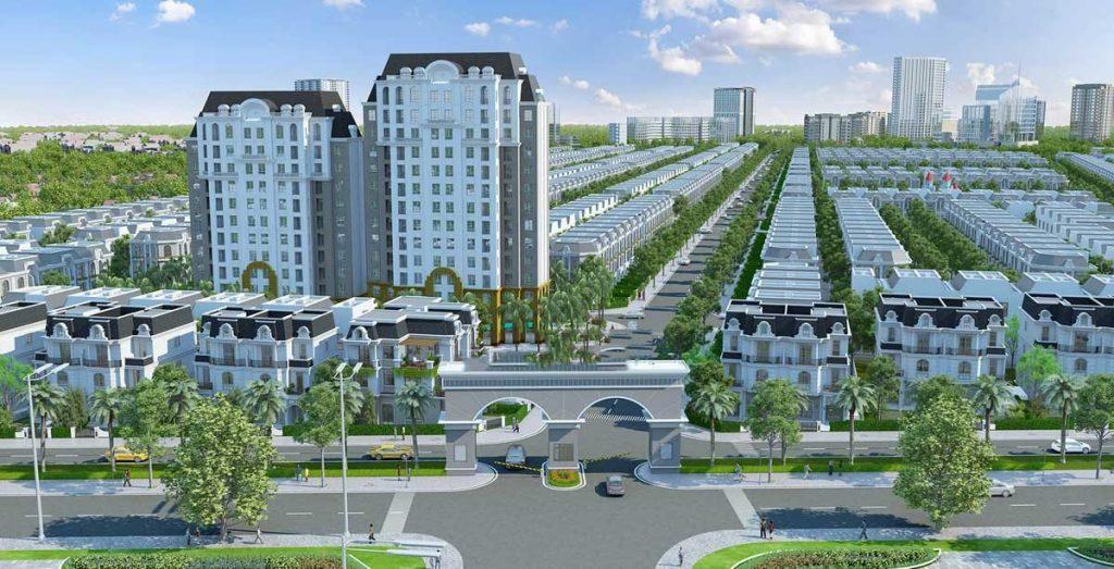 Vị trí City Land Bình Dương