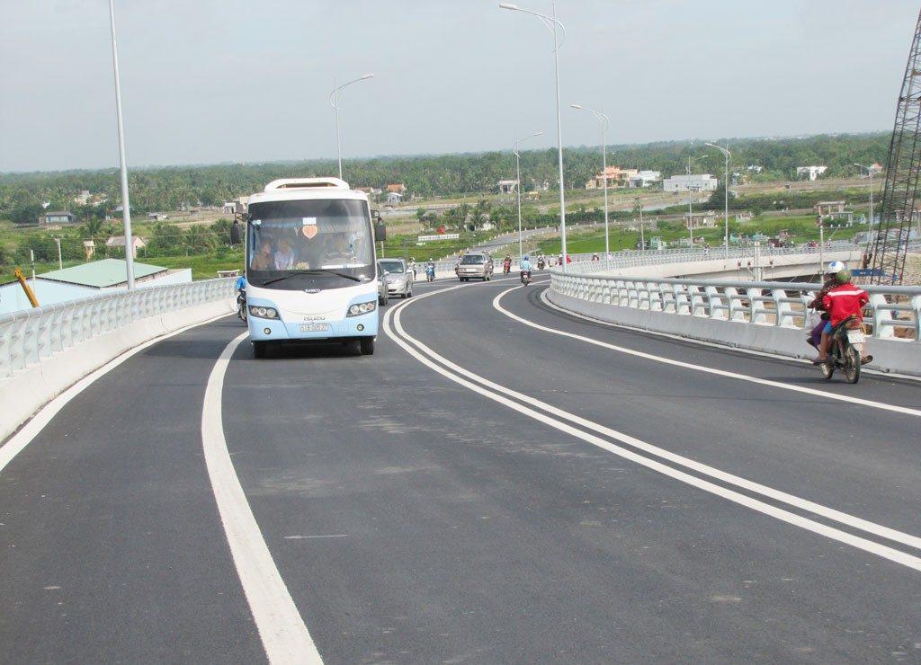 Hạ tầng cơ sở giao thông tuyệt vời của huyện Đức Hòa tỉnh Long An