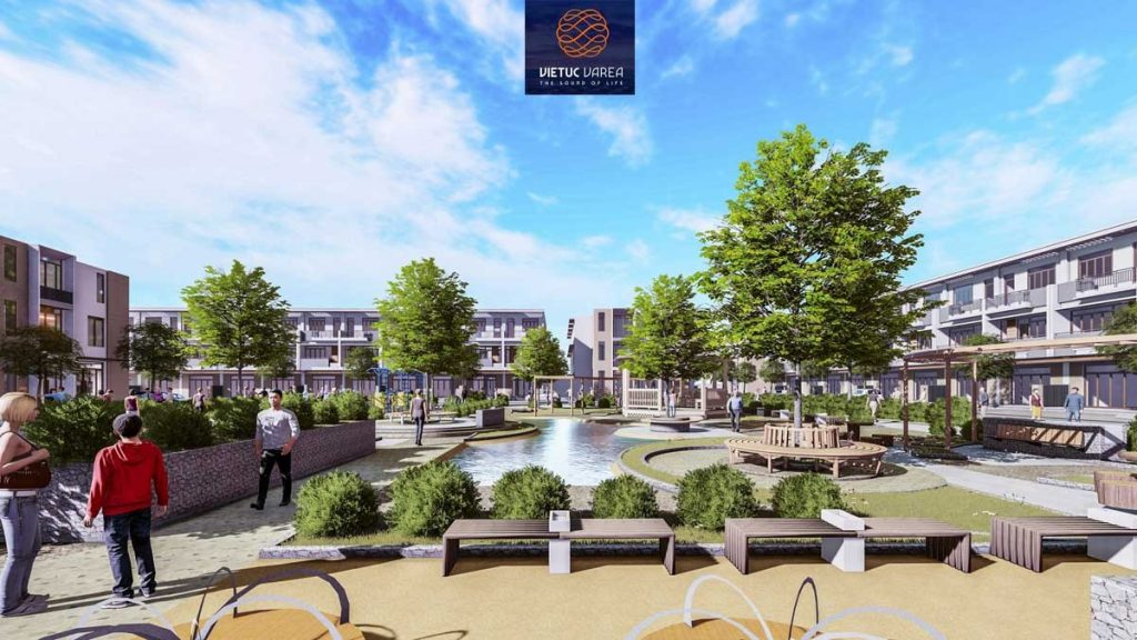 Mặt bằng của dự án khu dân cư Việt Úc Varea