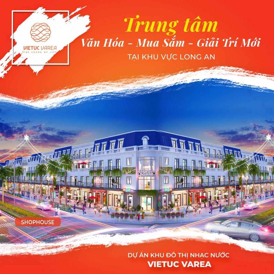 Phối cảnh Shophouse Khu đô thị Việt Úc Varea