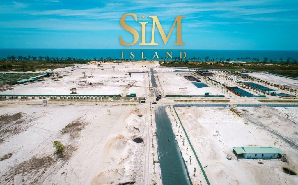 Mặt bằng của dự án Sim Island Phú Quốc