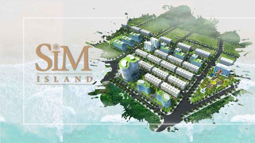 Vị trí của dự án Sim Island Phú Quốc