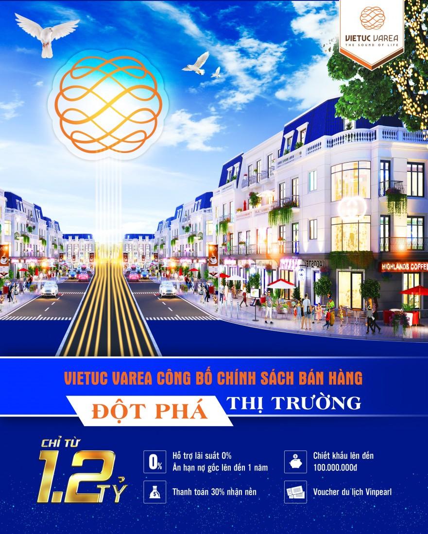 Việt Úc Varea công bố chính sách bán hàng