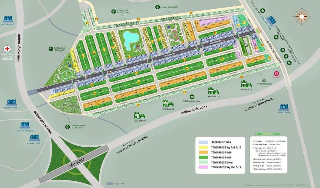 Huyện Bàu Bàng của dự án khu đô thị Phúc An Garden đang phát triển mạnh mẽ
