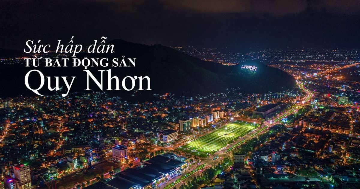 Grand Center đi cùng với tiềm năng phát triển bất động sản Quy Nhơn Bình Định