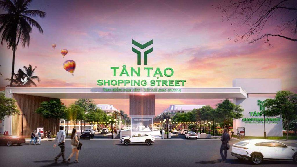Dự án Tân Tạo Shopping Street