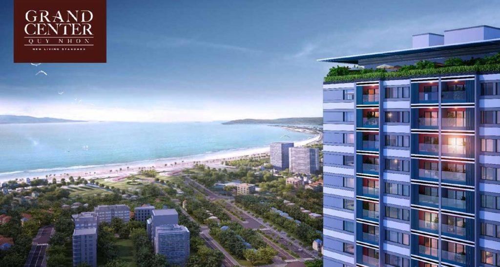 Vị trí thuận lợi giao thương của dự án căn hộ Grand Center Quy Nhơn