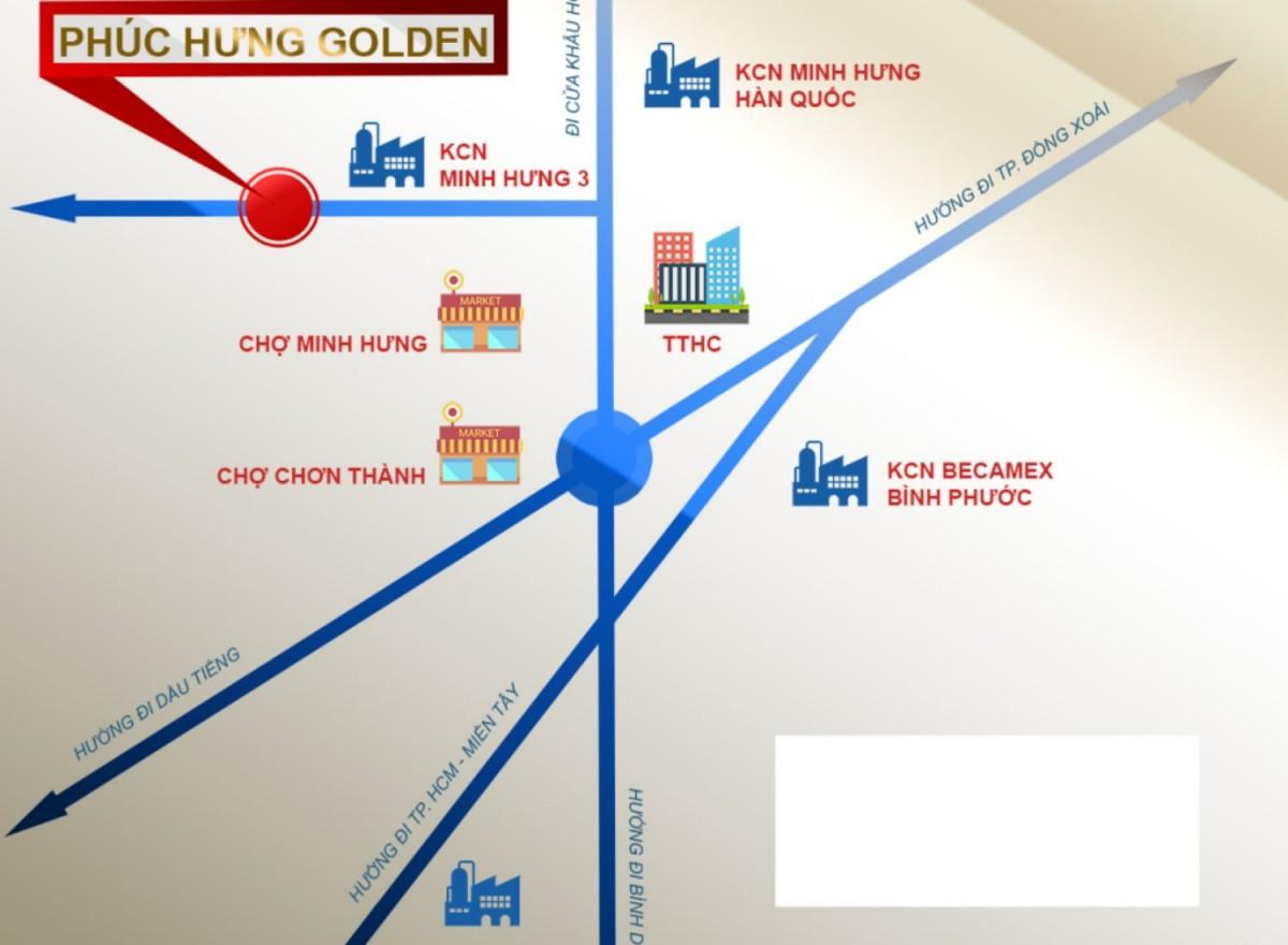 Vị trí Phúc Hưng Golden