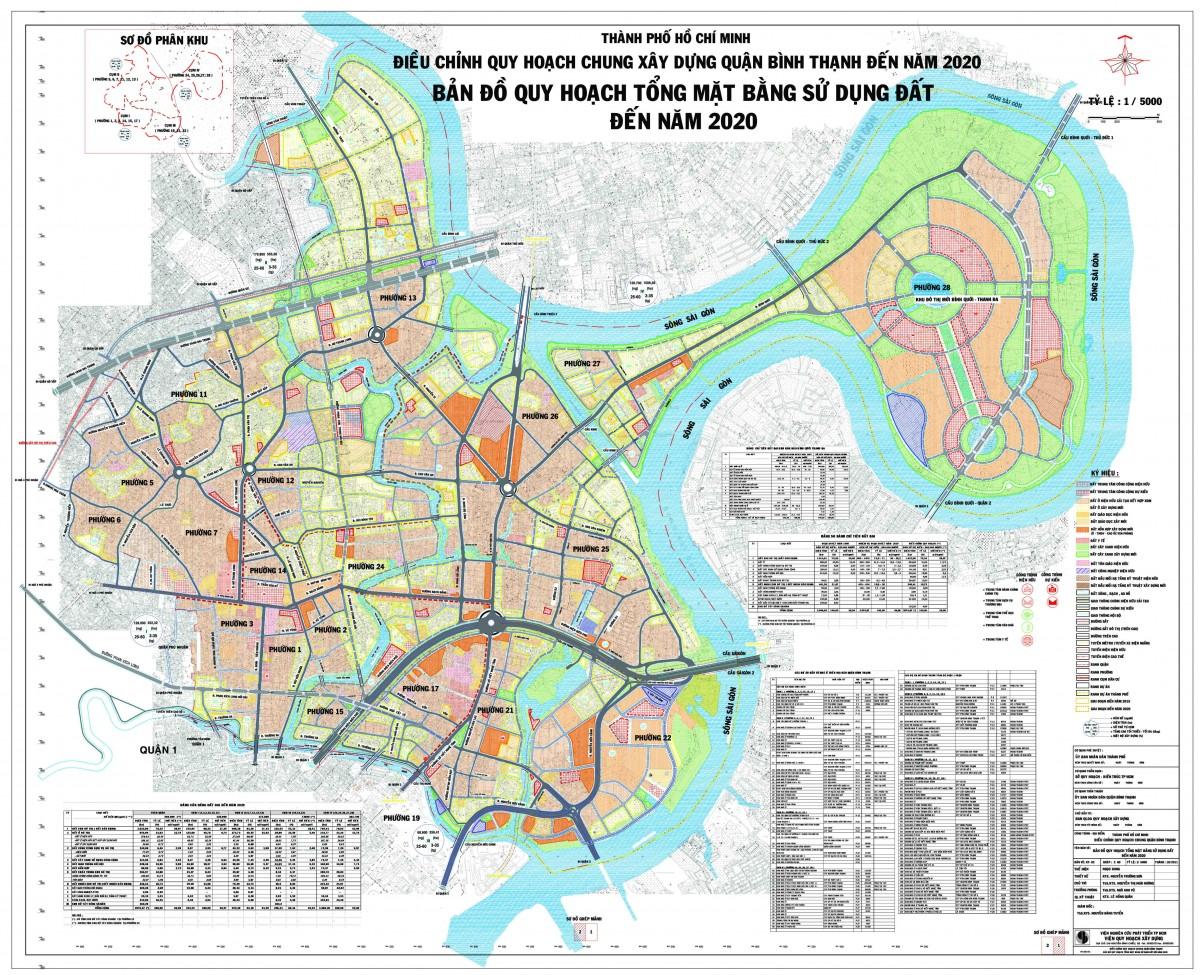 Bản đồ Quận Bình ThạnhTPHCM