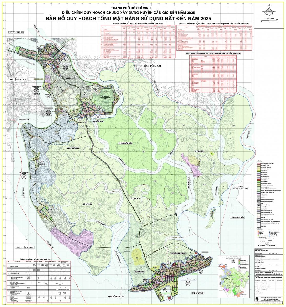 Bản đồ Huyện Cần GiờTPHCM