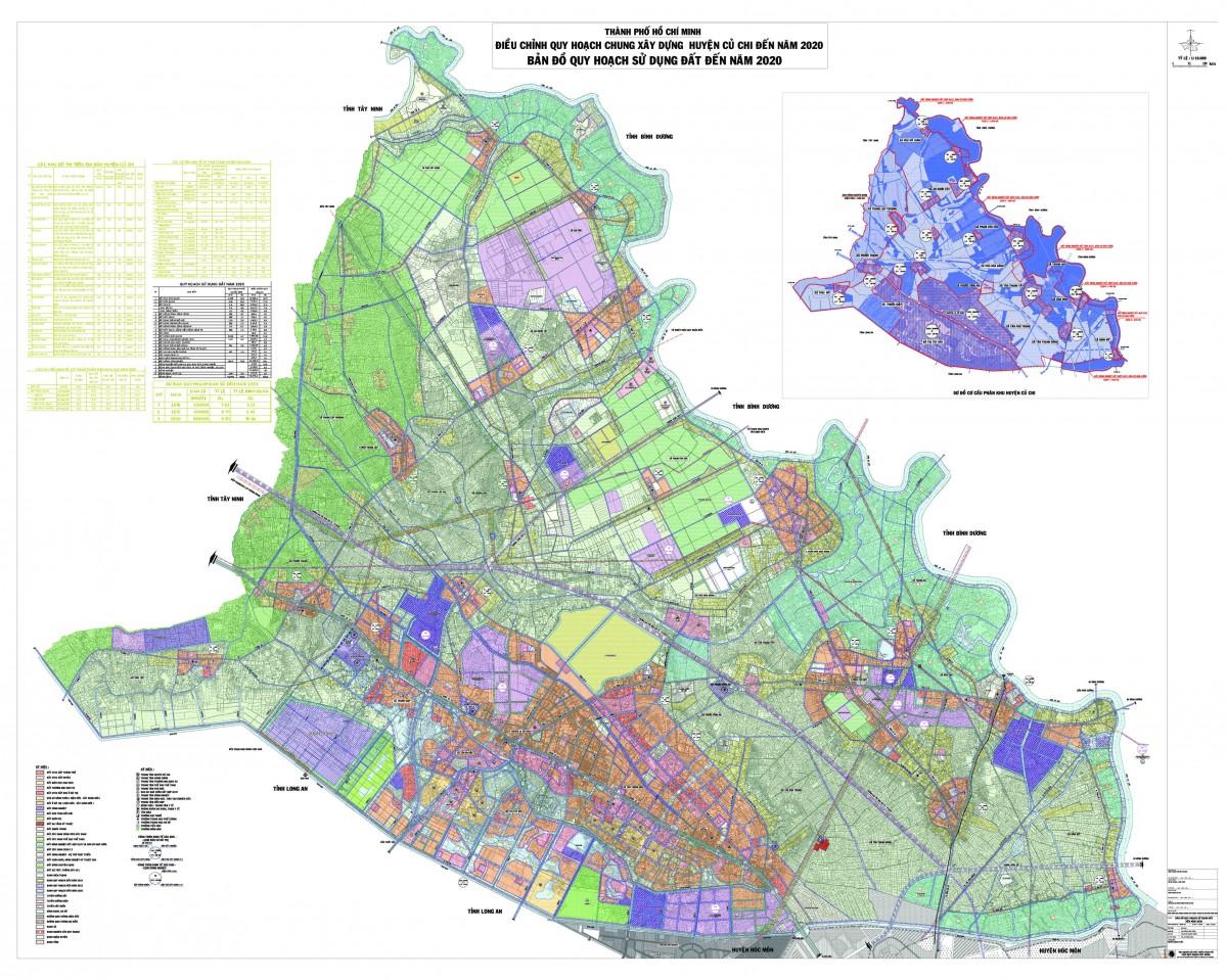 Bản đồ Huyện Củ ChiTPHCM