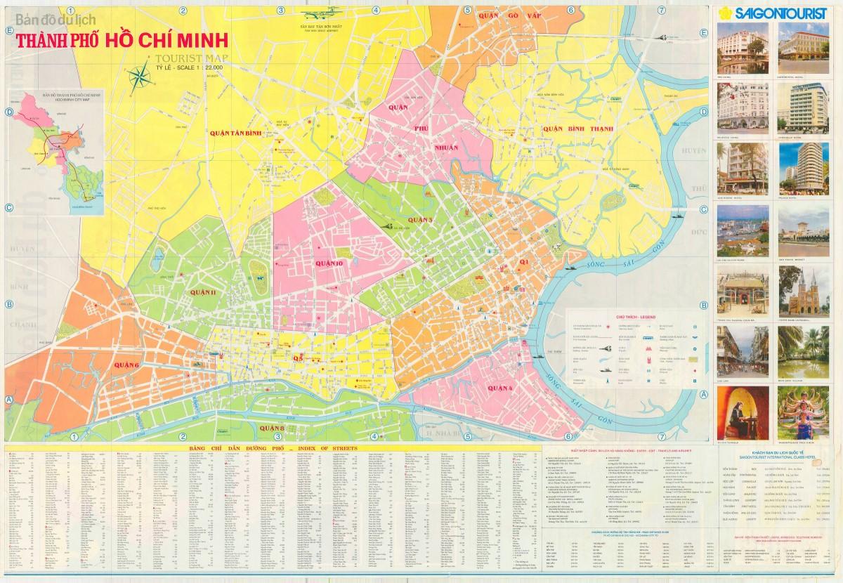 Bản đồ TPHCM du lịch