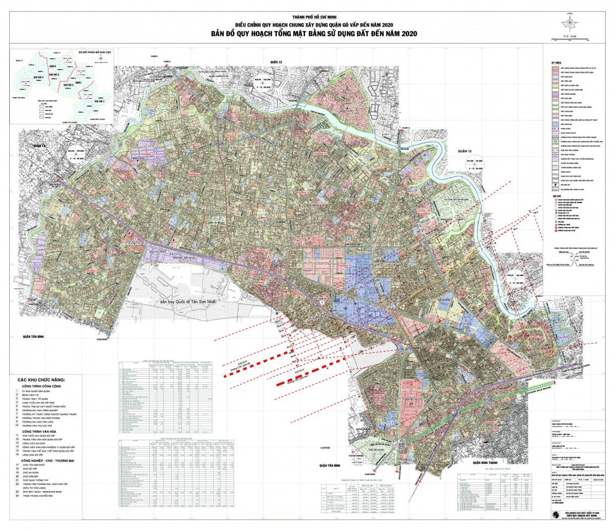 Bản đồ Quận Gò VấpTPHCM
