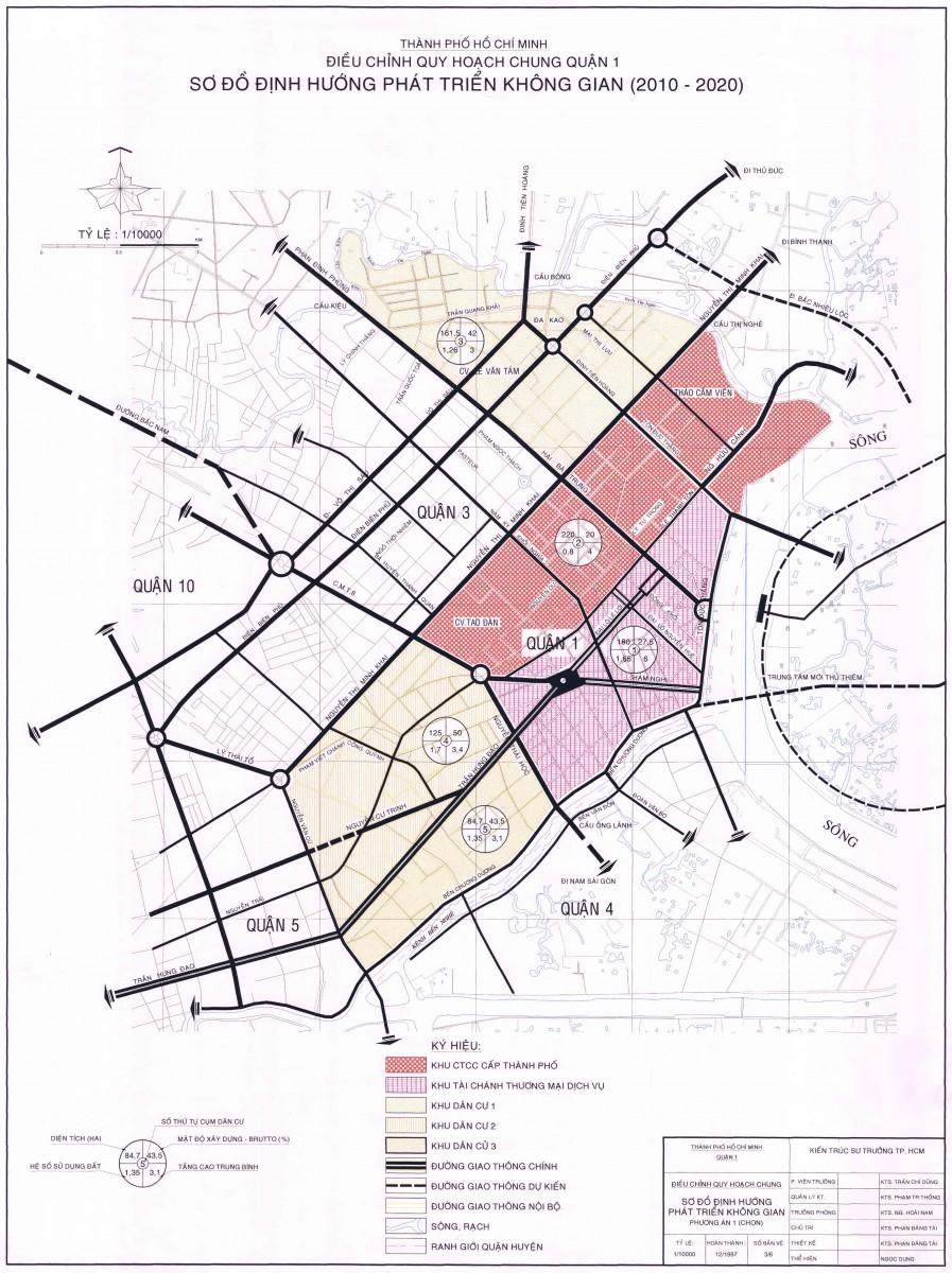 Bản đồ Quận 1 TPHCM