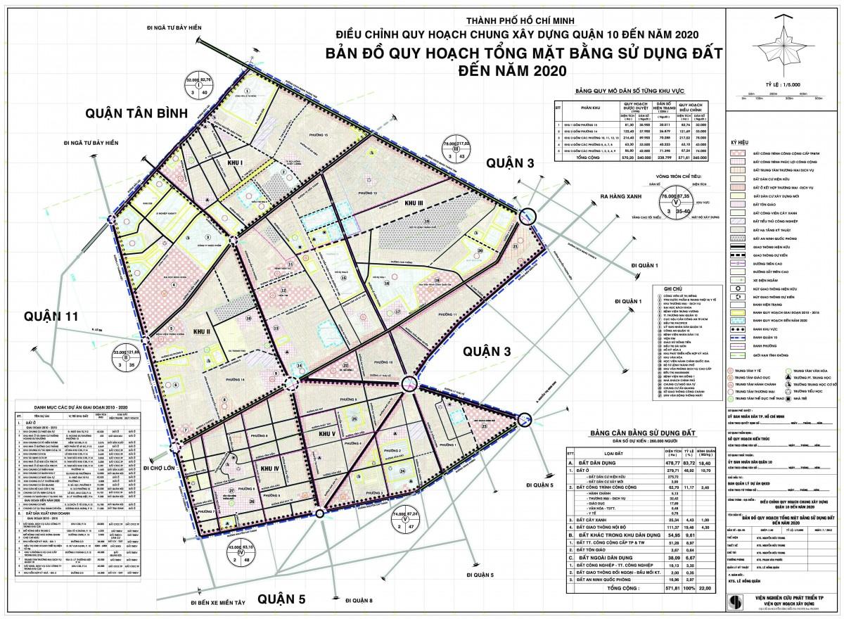 Bản đồ Quận 10 TPHCM